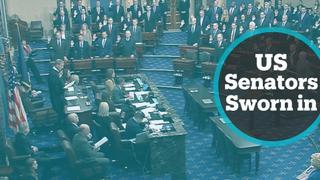 US senators sworn in as jurors ahead of president's impeachment trial