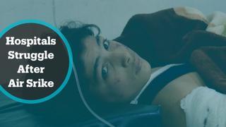 The War in Syria: Hospitals struggle as air strikes resume in Idlib province