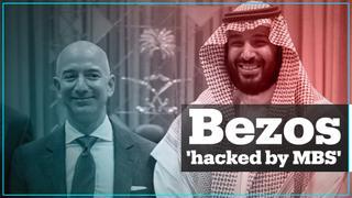 Jeff Bezos' phone hacked by Saudi crown prince – report
