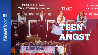The teenagers who are speaking truth to power at the #WEF20