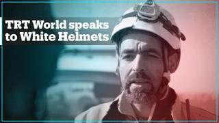 TRT World speaks to White Helmets in Aleppo