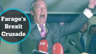 Farage made leaving the EU a relentless political crusade