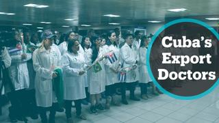 Report views Cuba's foreign medical missions as 'forced labour'