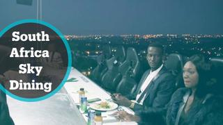 Sky-High Dining: South African restaurant serves meals 50m off the ground