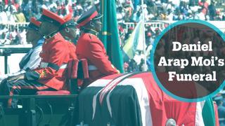 Thousands bid farewell to Kenya's longest-serving president Daniel Arap Moi