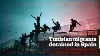 Families of detained Tunisian migrants want their loved ones home