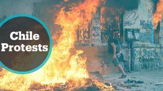 Clashes in Santiago as protesters demand social justice
