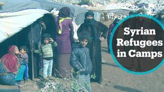 Nearly 1M who've fled from Idlib and Aleppo are now living in makeshift camps
