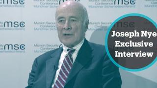 One on One Express: Joseph Nye - Former US Presidential Adviser