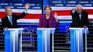 Michael Bloomberg faces hostile field in debate stage debut | Money Talks