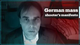 Shooter in Germany terror attack reveals motives in manifesto