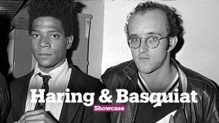 Partners in Prime:  Haring & Basquiat