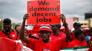 South Africa's biggest trade union strikes over low wages | Money Talks