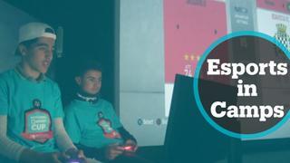 Zaatari refugee camp hosts Playstation FIFA 20 tournament