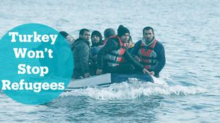 "Turkey ""won't stop"" refugees from reaching Europe"