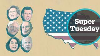 Super Tuesday: The biggest day of the primary campaign