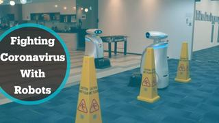 Singapore puts robots on front line of battle against virus