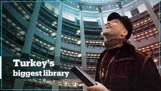 Turkey's newest and biggest library