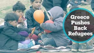 Greece pushes back refugees