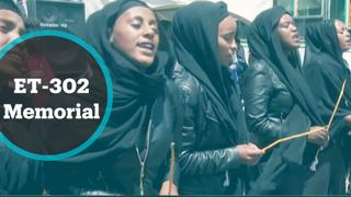 ET-302 Memorial: Ethiopians mourn victims of crash one year on
