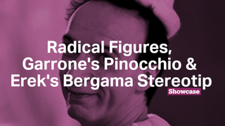 Roberto Benigni and Pinocchio | Painting in the New Millennium | Bergama Stereotip