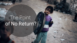 Gaza: The Point of No Return?