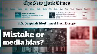 Media bias or mistake?