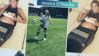 Mother and footballer, Jessica O'Rourke Carmikli | Besiktas and Babies