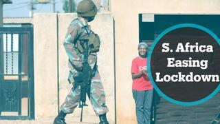 South Africa gradually easing lockdown measures