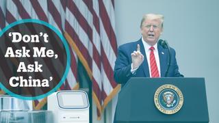 Trump dismisses concern over virus spreading in White House