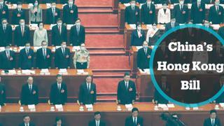 Hong Kong activists call for protests over Chinese bill