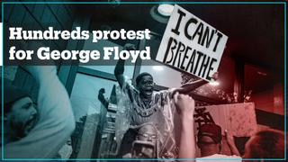 Thousands protest in US over death of George Floyd