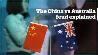 China and Australia's war of words