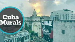 Cuba's abandoned buildings become canvases for artists
