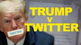 Twitter censors Trump for first time - POTUS hits back with Exec Order