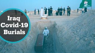 Most cemeteries in Iraq refuse Covid-19 burials