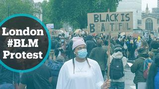 Thousands gather in London to protest systemic racism
