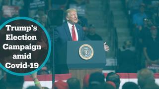 US Covid-19 cases rise amid Trump's election campaign trail