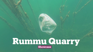 Rummu Quarry Became an Underwater Museum