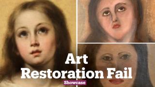 Unrecognizable Art Restoration of Murillo