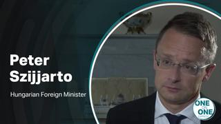 One on One interview with Hungarian FM, Peter Szijjarto