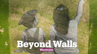 Saype's Beyond the Walls