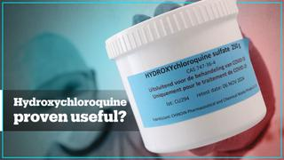 Studies suggest hydroxychloroquine could be useful against Covid-19