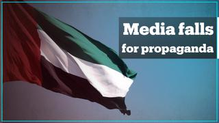 Media outlets duped by a Middle East propaganda campaign