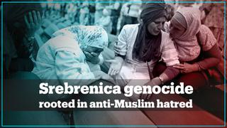 Srebrenica was rooted in anti-Muslim hate – Bosnian genocide survivor