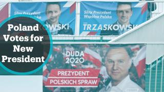 Polish voters to elect new president in neck and neck race