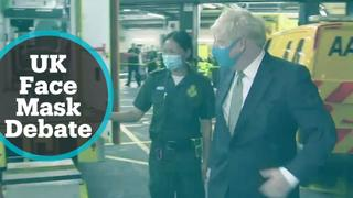 UK grapples with the debate over face mask