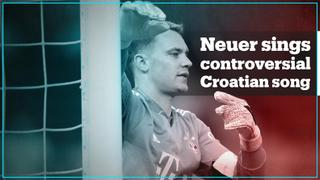 Germany's football captain Neuer filmed singing Croatian nationalist song