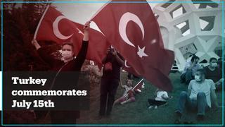 Turkey commemorates July 15 at memorial site