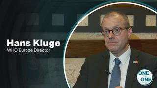 One on One Express with WHO Europe Director Dr. Hans Henri P. Kluge